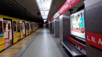 Paro en la Línea B de subterráneos por el rompimiento de la burbuja sanitaria