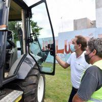 El Municipio incorporó nueva maquinaria para encarar mejoras en los barrios
