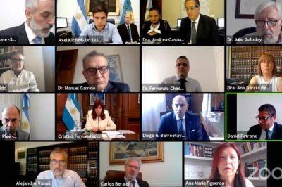 Tras la exposición de CFK, Kicillof, Vanoli y Pesce, el fiscal pidió que se haga el juicio oral por