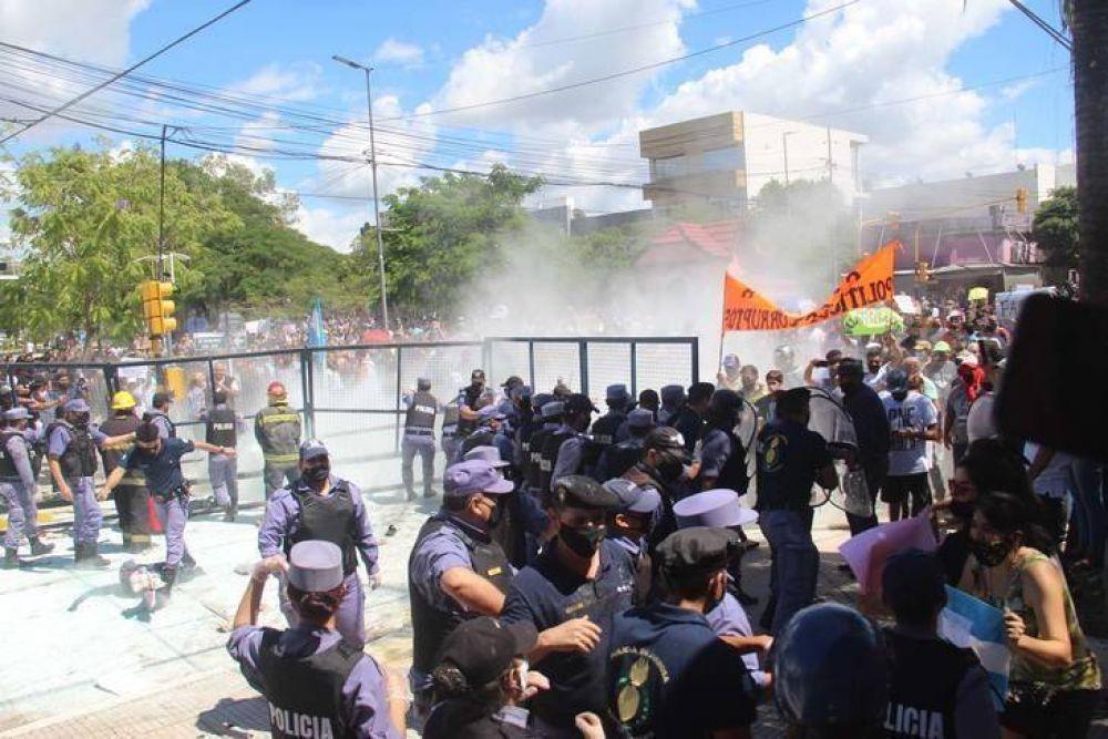 Represión en Formosa: repudio opositor y pedido de intervención nacional en el conflicto