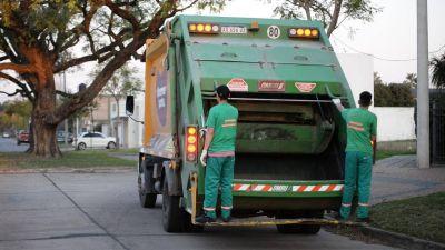 Recolección de residuos de patio en el primer sector