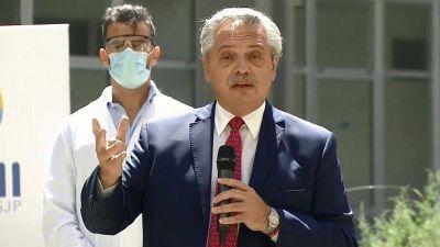 Alberto Fernández celebró el millón de vacunados contra el coronavirus con críticas a la oposición --------- Si va a utilizar este texto cite la fuente: elciudadanoweb.com ---------