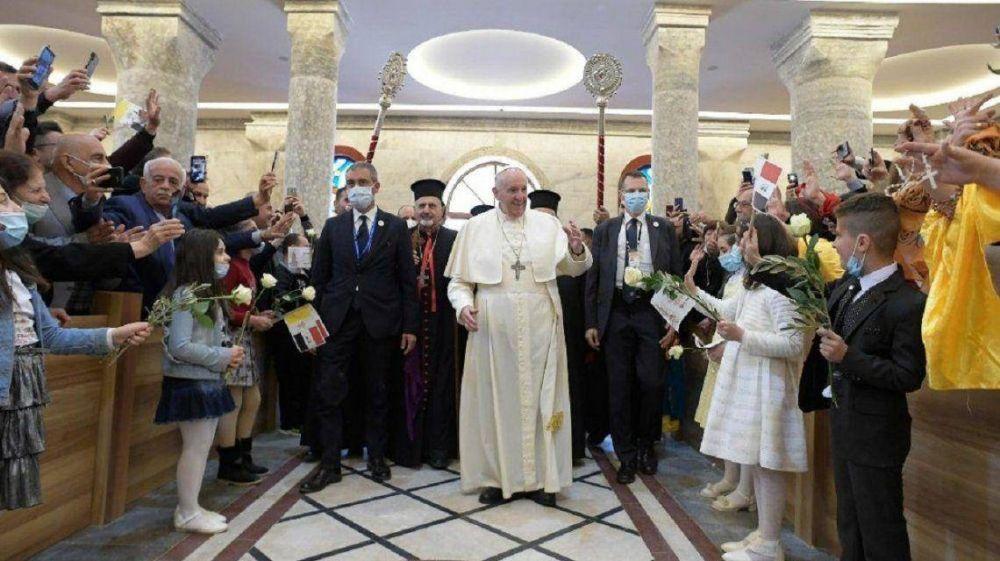 El papa Francisco en Irak: