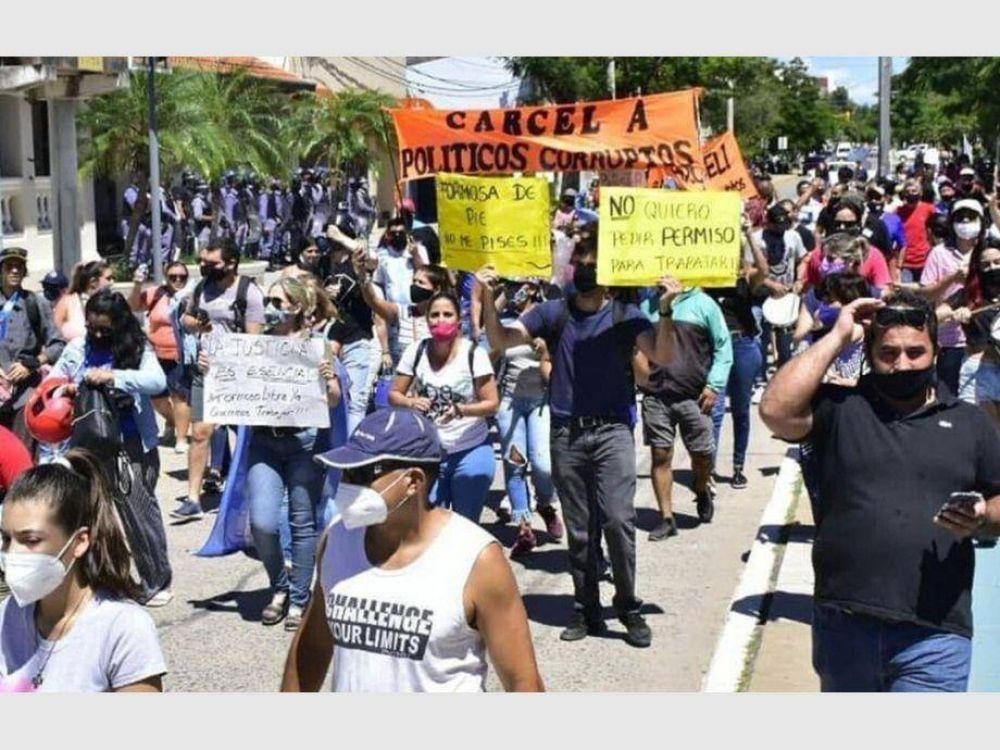 Preocupación y más movilizaciones por la cuarentena en la ciudad de Formosa