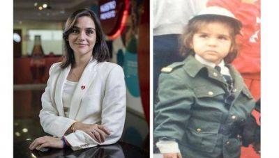 Soñaba con ser policía y hoy es directora de una de las transnacionales más poderosas del mundo