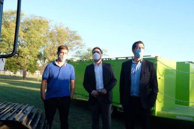 El ministro Cabandié entregó maquinaria para la gestión integral de residuos en Mercedes