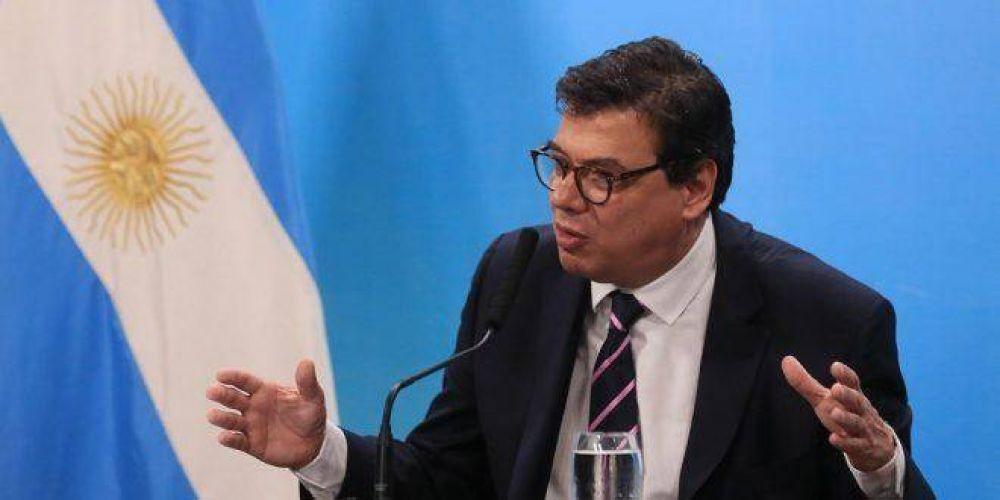 Impuesto a las Ganancias: el ministro Moroni expone en el Congreso sobre el proyecto de reforma