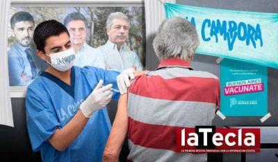 Los intendentes miran de afuera la campaña de vacunación