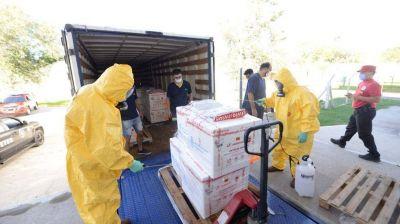 Córdoba recibió más de 60 mil dosis de vacunas Sputnik V y Sinopharm