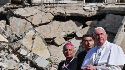 El Papa se despidió de Irak con mensajes contra el terrorismo y por una reconstrucción sin venganza