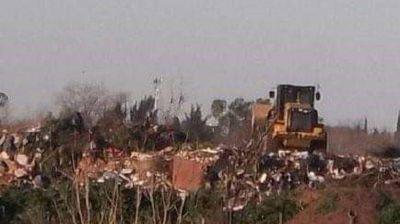 Vecinos de Campo La Juanita realizan asamblea contra basural