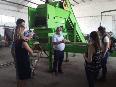 Acciones del gobierno municipal de Trenque Lauquen para optimizar la separación de residuos