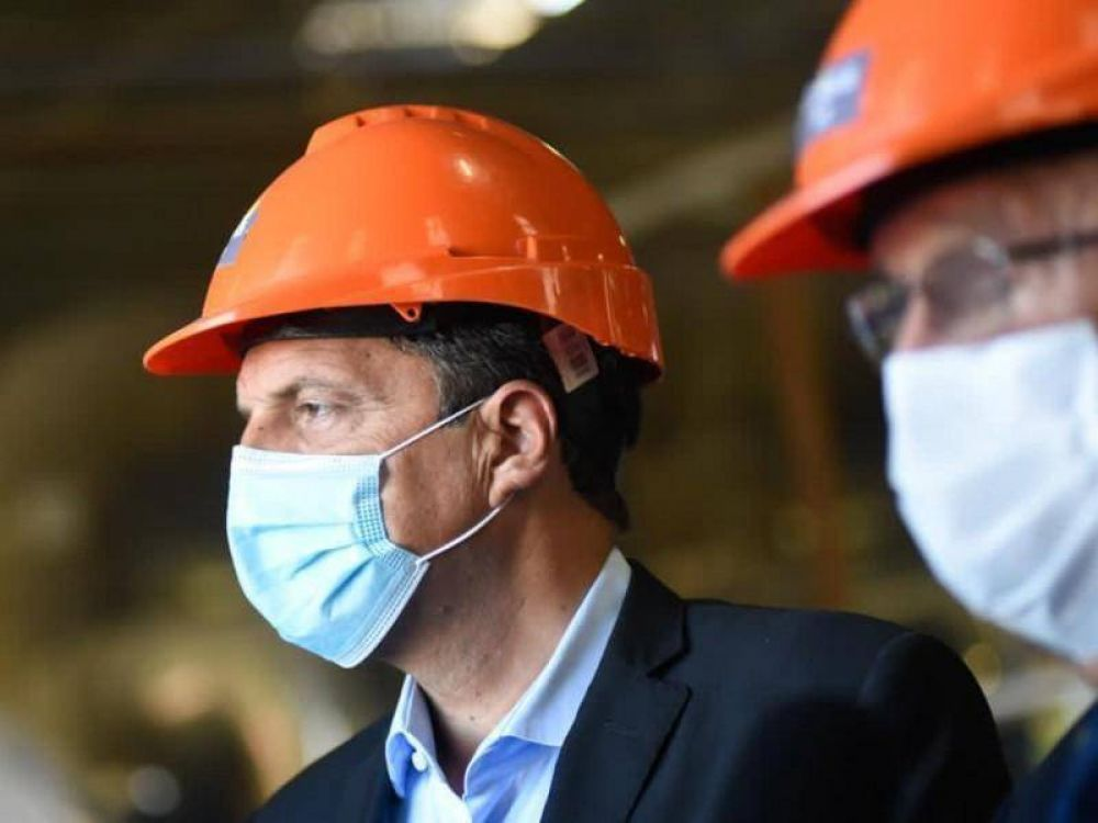 Ishii y Massa anunciaron una millonaria inversión para ampliar la capacidad de producción de la Cerámica Alberdi
