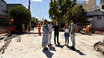 Obras de bacheo en Villa Sarmiento: Mirá cómo siguen
