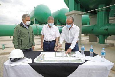 Schiaretti habilitó el entubamiento del canal Los Molinos–Córdoba