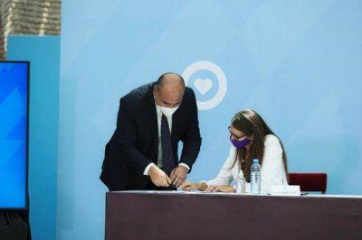 Violencia de género: Manzur participó de un acuerdo federal