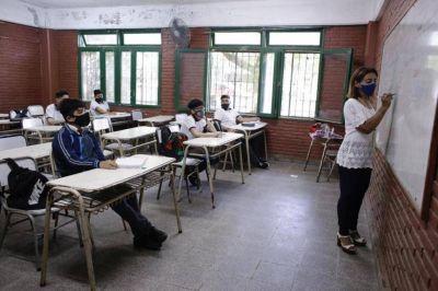 Más de 300 mil alumnos volvieron a las aulas en toda la provincia