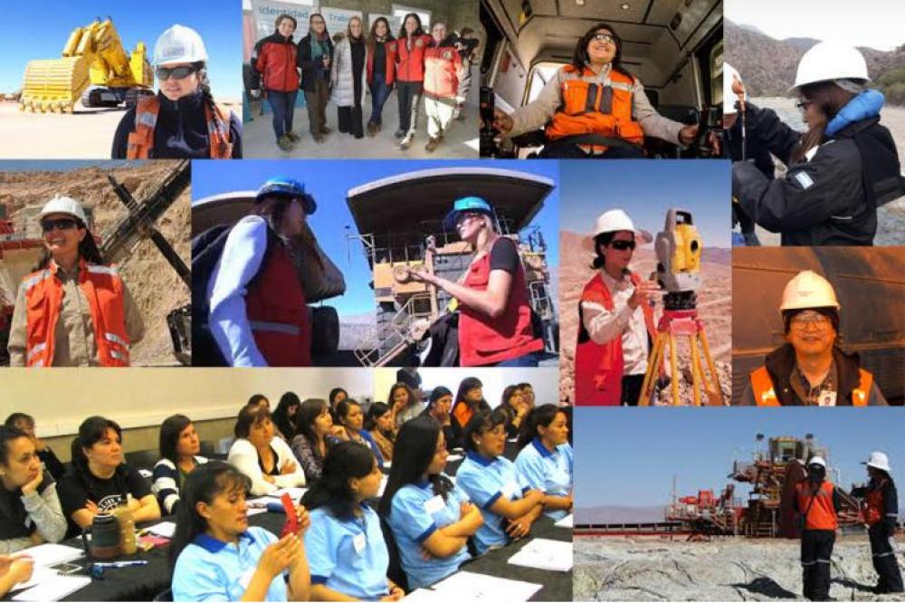 AOMA considera que el rol de la mujer en la minería debe dejar de ser declarativo
