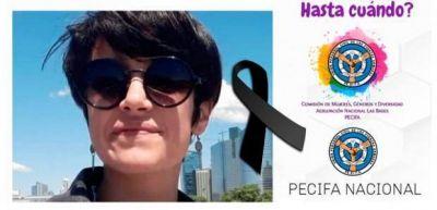 La Comisión de Géneros de Pecifa lamentó otro caso de violencia de género hacia trabajadoras civiles
