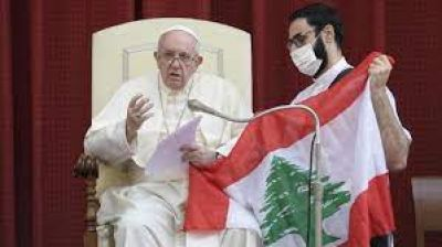 El Papa ya piensa en un nuevo viaje apostólico: Líbano