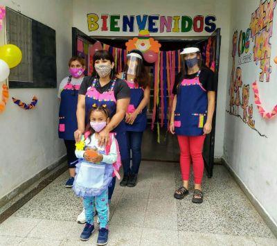 Comienzo de clases en los centros de desarrollo infantil