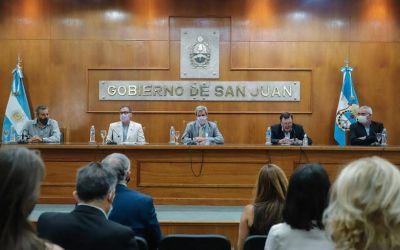 Gobierno firmó convenio con INTI y la UNSJ para mejorar la competitividad de empresas locales