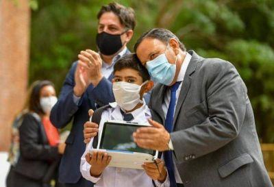 Quintela y Trotta inauguraron ciclo lectivo 2021 en La Rioja