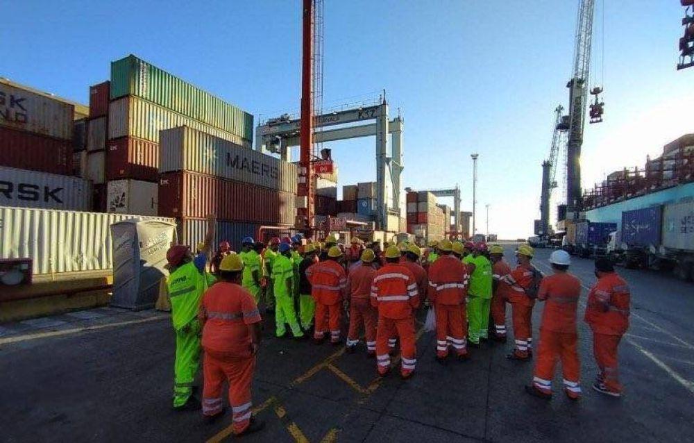 SUPA: Desde las 0 comenzó el paro de actividades en el Puerto de Buenos Aires