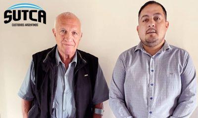 Los Custodios se reunieron con Aldo Rico