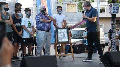 El intendente Valenzuela inauguró dos plazas en Ciudadela