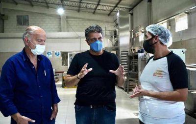 """Jorge Macri: """"La política tiene que aprender que el porvenir es de la mano de la gente que labura"""""""