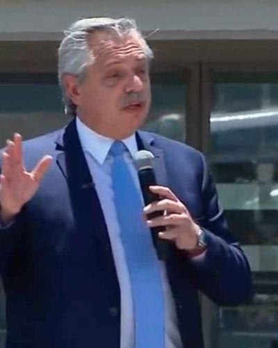 Alberto Fernández recorrerá Avellaneda