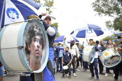La Plata también pidió justicia por Maradona