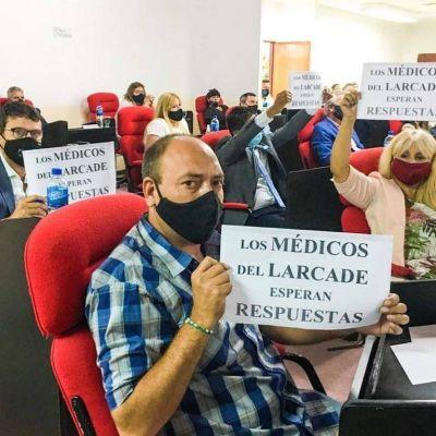 Fuerte crítica del bloque liderado por Franco La Porta del FdT a Jaime Méndez