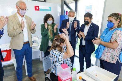 Intendentes respaldaron la campaña de vacunación