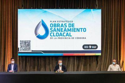 Schiaretti presentó el Plan Estratégico de Obras de Saneamiento Cloacal