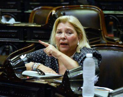 Presentan una denuncia penal en Córdoba contra Elisa Carrió