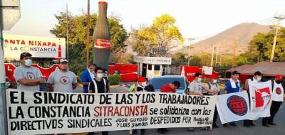 El Salvador | SINDICATOS | AB INBEV Sitraconsta exige reconocimiento y diálogo