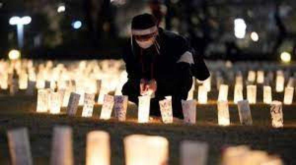 Iglesia en Japón recuerda a las víctimas del desastre nuclear de Fukushima