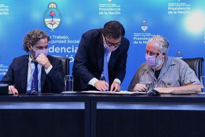 Tras el acuerdo con la UTEP, el Gobierno formalizó el registro de organizaciones de la economía popular