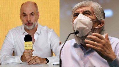 Cumbre reservada entre Horacio Rodríguez Larreta y Hugo Moyano por la recolección de basura