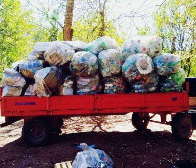 Valle Grande: hubo un récord en la recolección diferenciada de residuos
