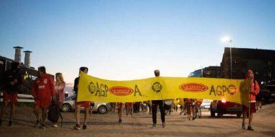 Decimoquinto paro de guardavidas en Pinamar, en un conflicto que ya lleva cuatro meses