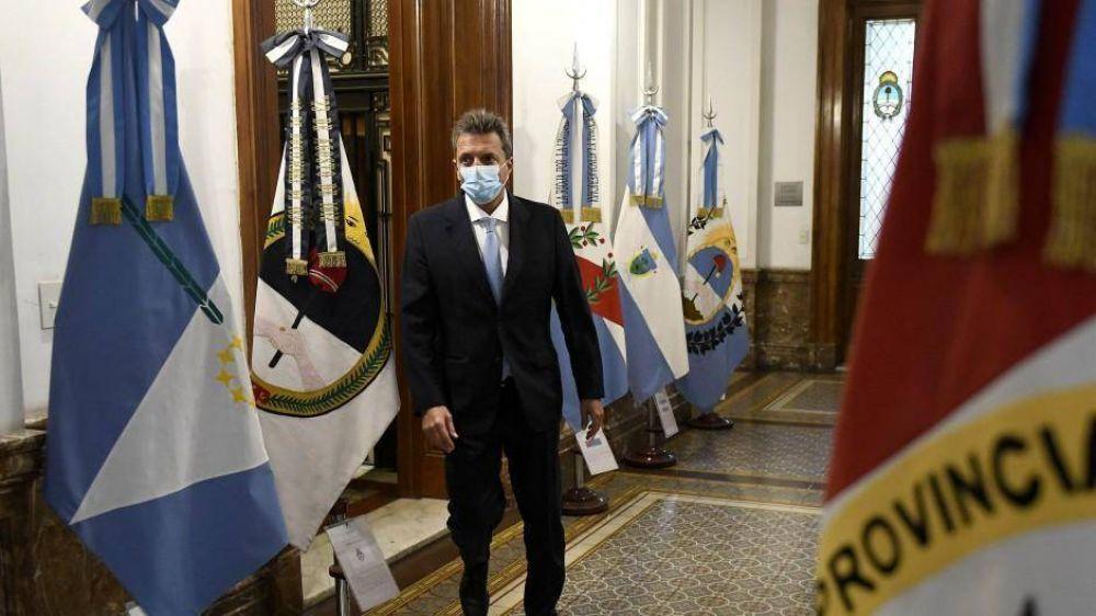 Massa acelera el debate de Ganancias con respaldo de Cambiemos