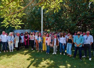 Emilio Monzó se reunió con las dirigentes y militantes de la tercera sección electoral
