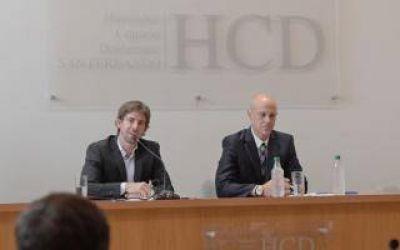 El Intendente Juan Andreotti abrió las sesiones ordinarias del Concejo Deliberante de San Fernando
