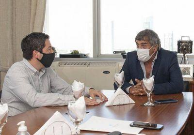 Ambrosini y Nardini se reunieron en ENACOM