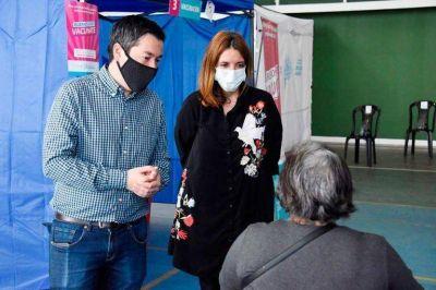 Avanza en Malvinas Argentinas la vacunación contra el coronavirus