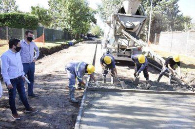 """Nardini: """"Seguimos trabajando para que la obra pública llegue a todos los barrios"""""""
