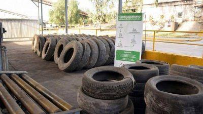 La Cumbre reutilizará materia prima de los neumáticos en desuso